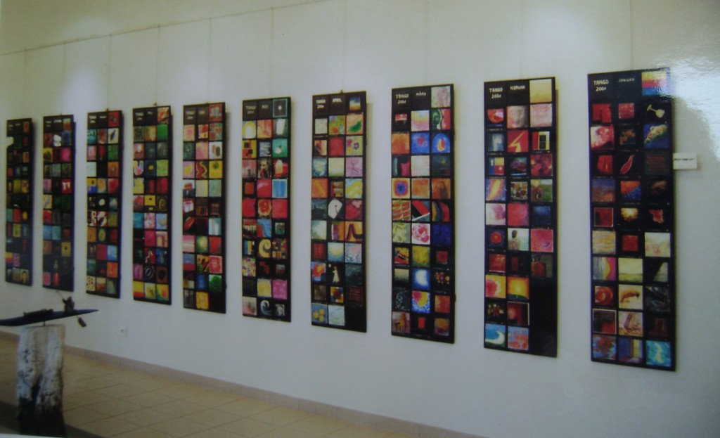 Tango-Projekt-Ausstellung in Lapalisse Frankreich